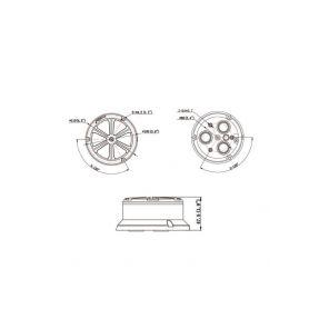 Univerzální přední / zadní parkovací kamera 2-221835-rf