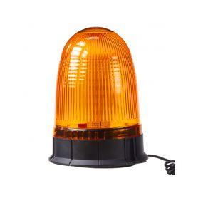 WL55 x LED maják, 12-24V, oranžový magnet, 80x SMD5050, ECE R10 LED magnetické