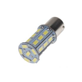 95103 LED BA15s bílá, 12V, 27LED/3SMD Patice BA15S