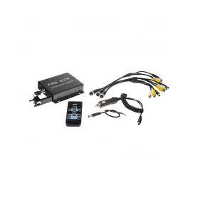 DVR21C Full HD černá skříňka - se záznamem obrazu z dvou kamer, 1x slot SD Speciální záznamové kamery