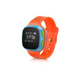 Alcatel Movetime Orange/Blue - použité zboží, nefunkční sim slot a nefunkční GPS Chytré hodinky