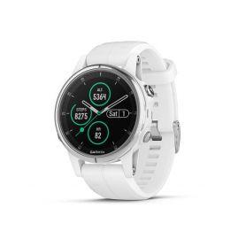 Garmin Fenix 5s Plus Sapphire White + White band Chytré hodinky
