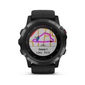 Garmin Fenix 5X Plus Sapphire Black + Black band Chytré hodinky
