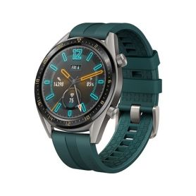 Huawei Watch GT Dark Green Fluoroelastomer Strap Chytré hodinky