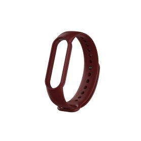 Xiaomi Mi Band 5 náhradní náramek - Dark Red Chytré hodinky