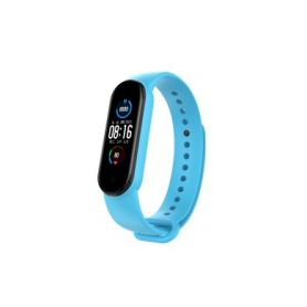 Xiaomi Mi Band 5 náhradní náramek - Light Blue Chytré hodinky
