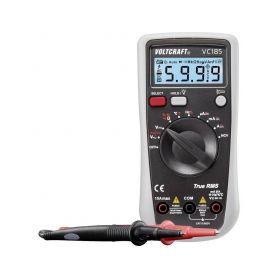 VOLTCRAFT 1694620 Digitální multimetr VC185 (K), kalibrace dle ISO Multimetry
