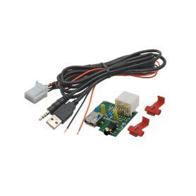 248842 USB+JACK konektor Hyundai USB/AUX kabely