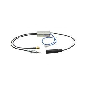 295955 AM-FM / DAB-DAB+ rozbocovac signalu DAB autoantény