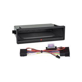 Inbay 870212 ® QI nabijecka v policce pod 1DIN radiem Inbay - bezdrátové nabíjení