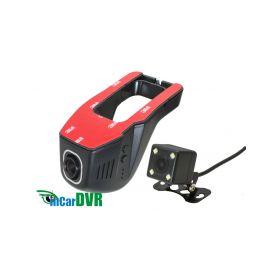 inCarDVR 229505 DVR kamera HD, Wi-Fi univerzalni predni + zadni Dvoukanálové záznamové kamery