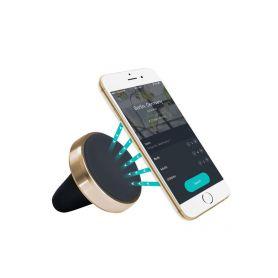 TSS GROUP MH MAG GOLD MG MAG GOLD Magnetický držák smartfonu do mřížky ventilace, zlatý lem Držáky mobilních telefonů