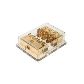 ACV 232328 Pojistkove pouzdro 4 pojistky GOLD pojistky + pouzdra