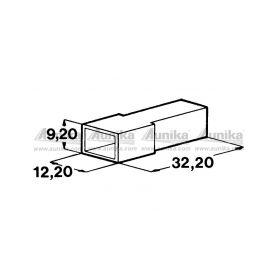 IMP 428987 5000 Kryt koliku 6,3 mm Izolační kryty Faston