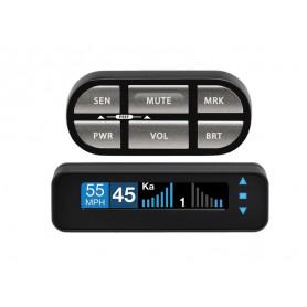 Zabezpečovací zařízení s GPS, pevná sada pro KA + MTR + GPS databáze ESCORT MAX CI Vestavěné antiradary