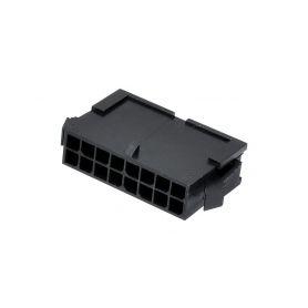 MOLEX 423666 Izolacni kryt Mikro-Fit 16kontaktu Konektory Mini-Fit a Micro-Fit