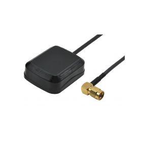 297103 SMA9 AGP-103 GPS vnitrni antena SMA 90°konektor GPS antény