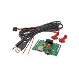 248845 USB+JACK konektor Kia Soul USB/AUX kabely
