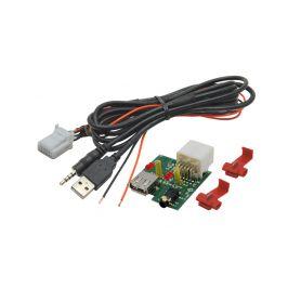 248843 USB+JACK konektor Kia USB/AUX kabely
