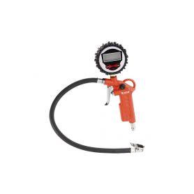 EXTOL-PREMIUM EX8865065 Plnič pneumatik s manometrem, digitální, stupnice - psi, bar, kPa, Kgf/cm2, RP 120 D Pistole