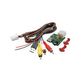 248842 C USB+JACK konektor Hyundai / Kia USB/AUX kabely