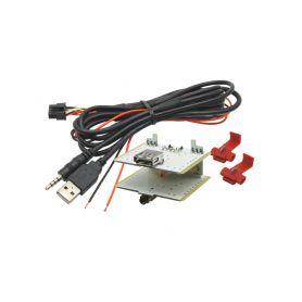 248821 USB+JACK konektor Alfa / Fiat / Iveco USB/AUX kabely