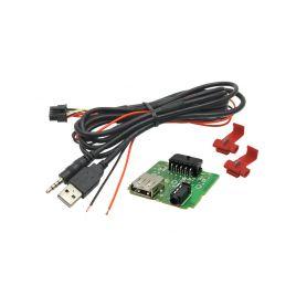 248844 USB+JACK konektor Hyundai i20 II. USB/AUX kabely