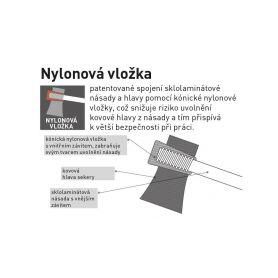 EXTOL PREMIUM Sekera štípací s kvalitní českou bukovou násadou, 1000g, násada 50cm EXTOL PREMIUM 4-ex8871035