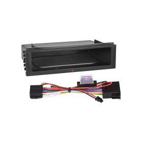Inbay 870201 ® QI nabijecka v policce pod 1DIN radiem Inbay - bezdrátové nabíjení