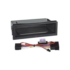 Inbay 870202 ® QI nabijecka v policce pod 1DIN radiem Inbay - bezdrátové nabíjení