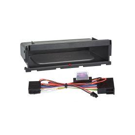 Inbay 870211 ® QI nabijecka v policce pod 1DIN radiem Inbay - bezdrátové nabíjení
