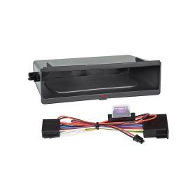 Inbay 870213 ® QI nabijecka v policce pod 1DIN radiem Inbay - bezdrátové nabíjení