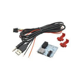 248839 USB+JACK konektor Hyundai Tucson II. (15-) USB/AUX kabely