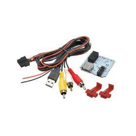 248839 C USB+JACK konektor Hyundai Tucson II. (2015-) USB/AUX kabely