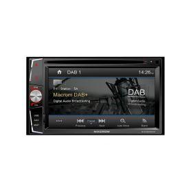 Macrom 222436 M-DVD6000DAB AV jednotka 2DIN Pevné GPS navigace