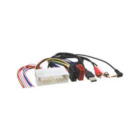 252217 ISO / USB / AUX adapter pro autoradia Hyundai / Kia OEM/ISO adaptéry