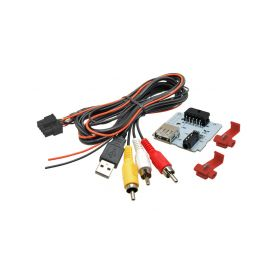 248844 C USB+JACK konektor Hyundai i20 II. USB/AUX kabely