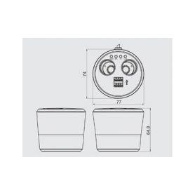 Univerzální CAN-Bus interface 1-cbcan-01
