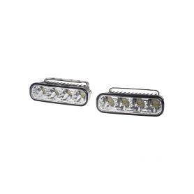 SJ-287 LED světla pro denní svícení, 120x36mm, ECE Denní svícení UNI