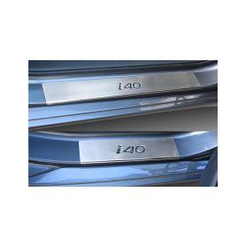 ALDOR - CarPartsExpert 641000 H1I4EG Ochrana vnitrnich prahu Hyundai i40 Doplňky pro Hyundai