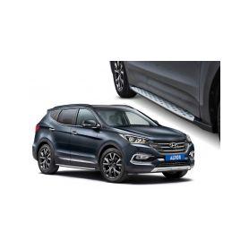 ALDOR - CarPartsExpert 641000 H4SFSI Bocni stupacky Hyundai Santa Fe Doplňky pro Hyundai
