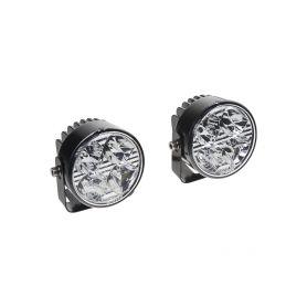 SJ-288 LED světla pro denní svícení, kulatá 70mm, ECE Denní svícení UNI