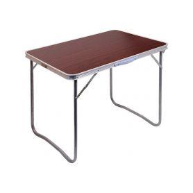 CATTARA Stůl kempingový skládací BALATON hnědý CATTARA 4-13486
