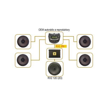 Autoalarmy  1-ja-ca550 Náklonový senzor