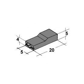 IMP 428978 N Kryt dutinky 2,8mm cerny Izolační kryty Faston