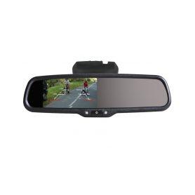 228006 26 AK-043LA monitor v zrcatku Nissan, Renault, Ve zpětném zrcátku