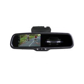 228011 26 AK-043LAD monitor v zrcatku Nissan, Renault, Ve zpětném zrcátku