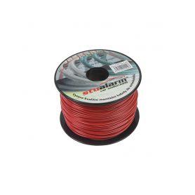 3100101 Kabel 1 mm, červený, 100 m bal Montážní kabely