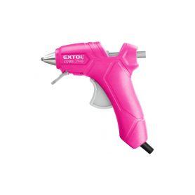 EXTOL-LADY EX422003 Pistole tavná lepící, Ř7,2mm, 25W, růžová Pistole