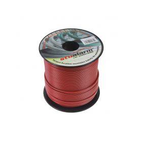 Kabel 1,5 mm, červený, 100 m bal